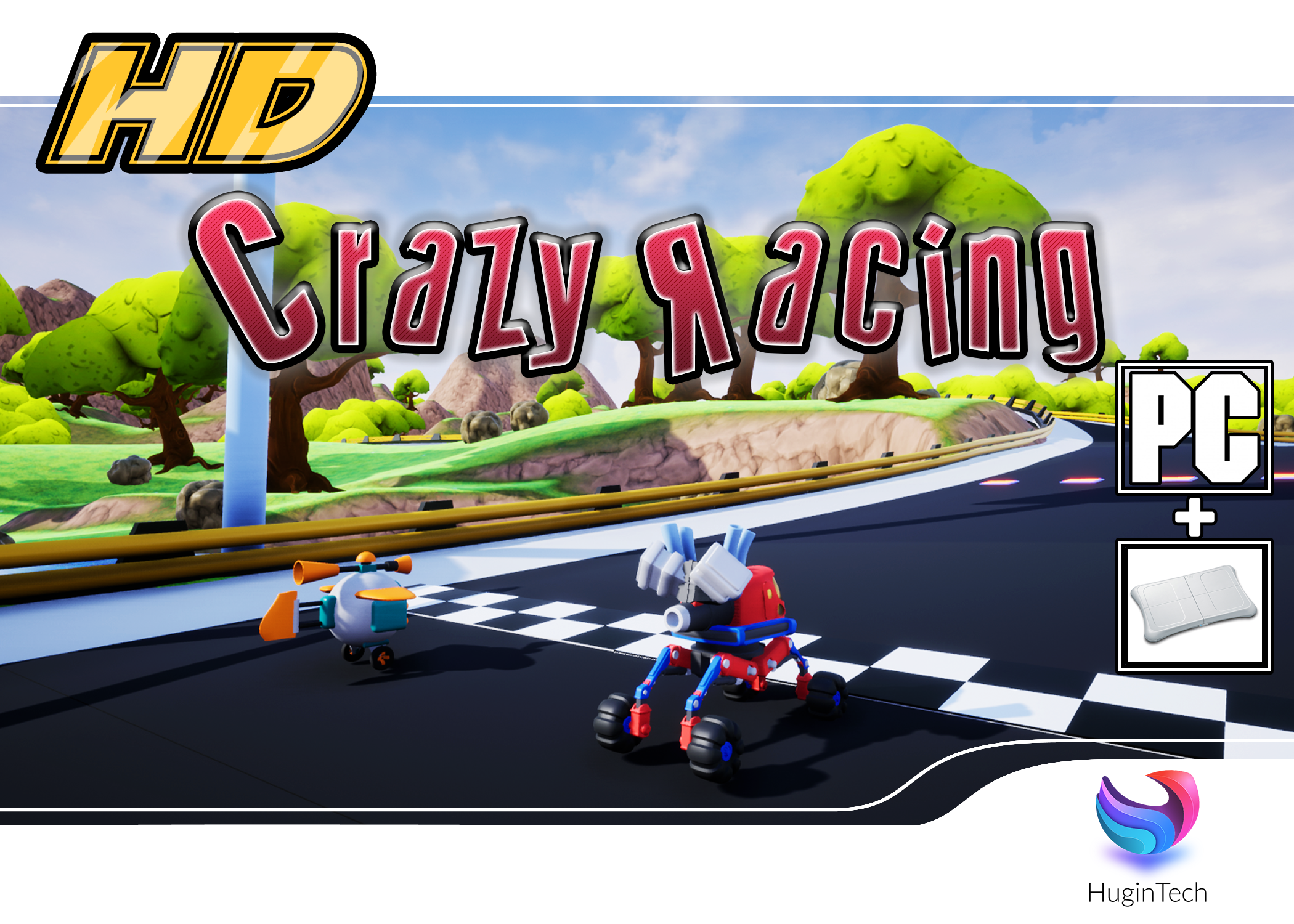 Crazy Racing HD Box Art