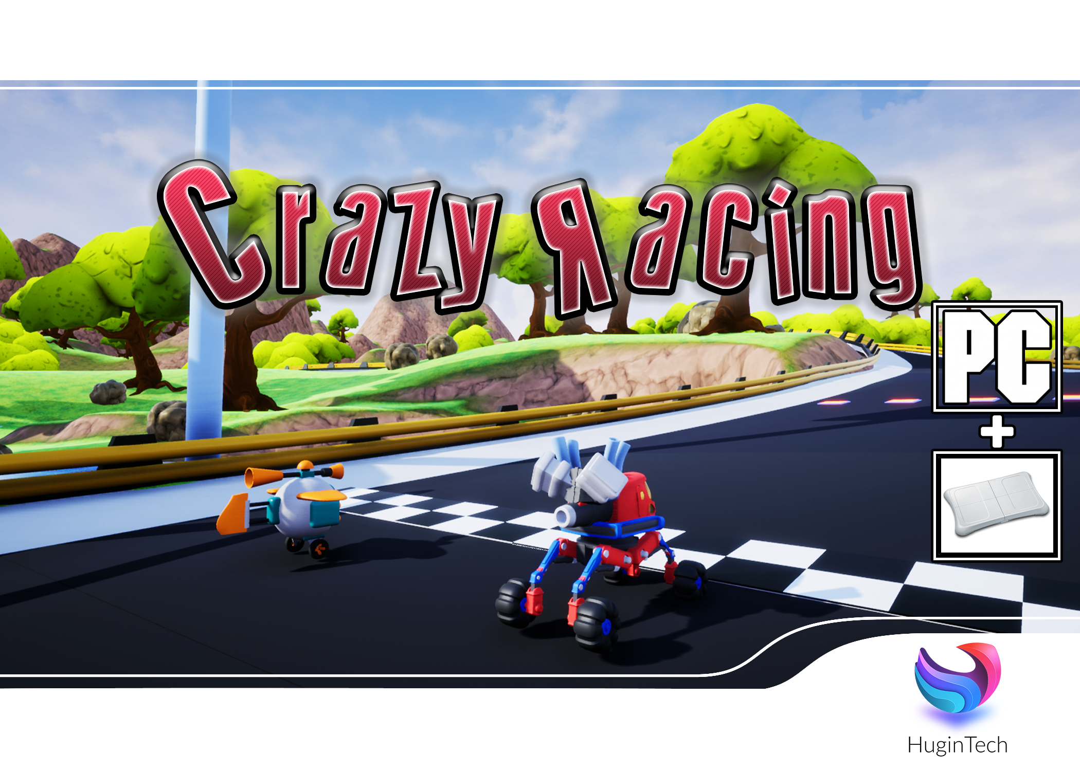 Crazy Racing Box Art