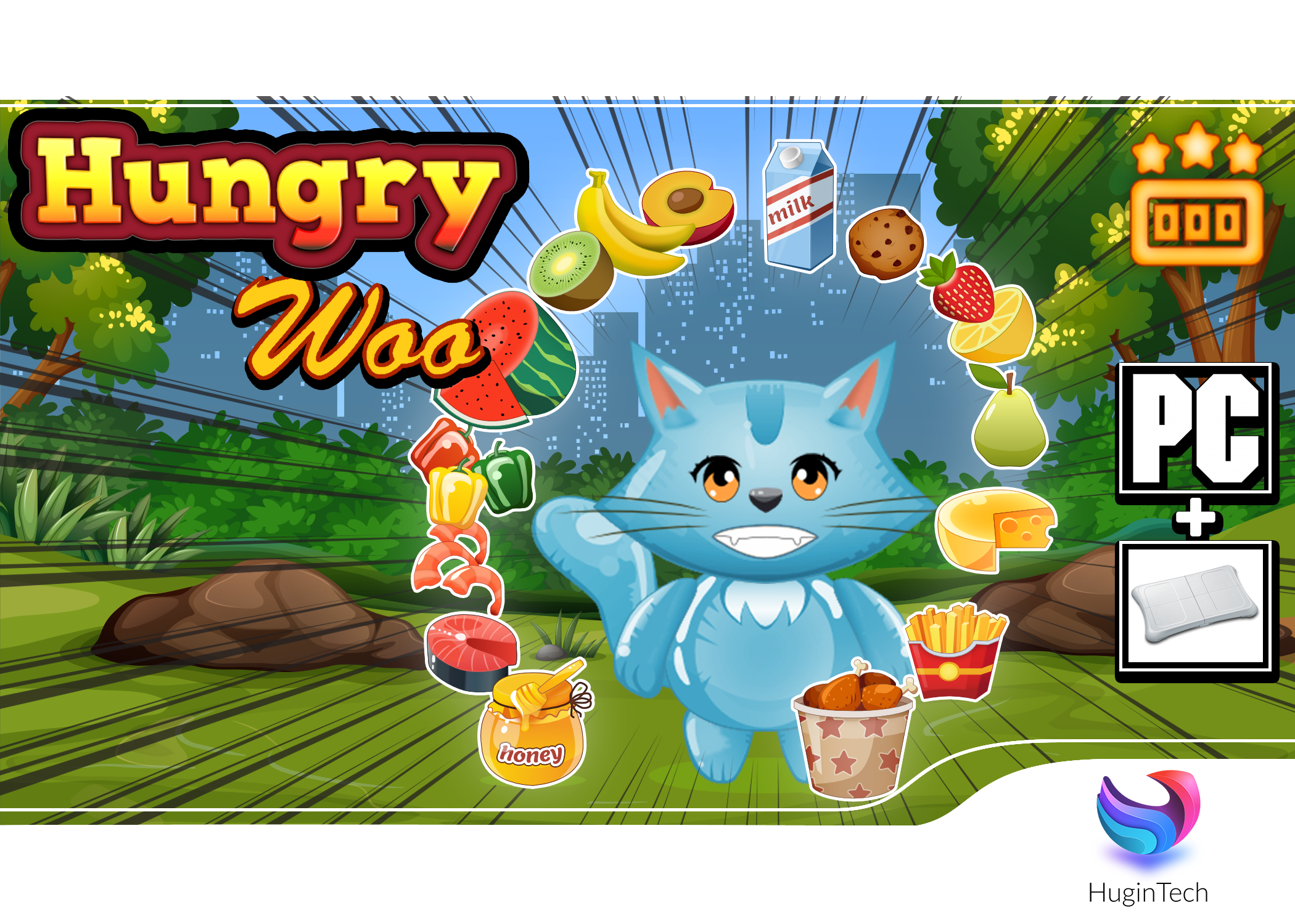 Hungry Woo Box Art