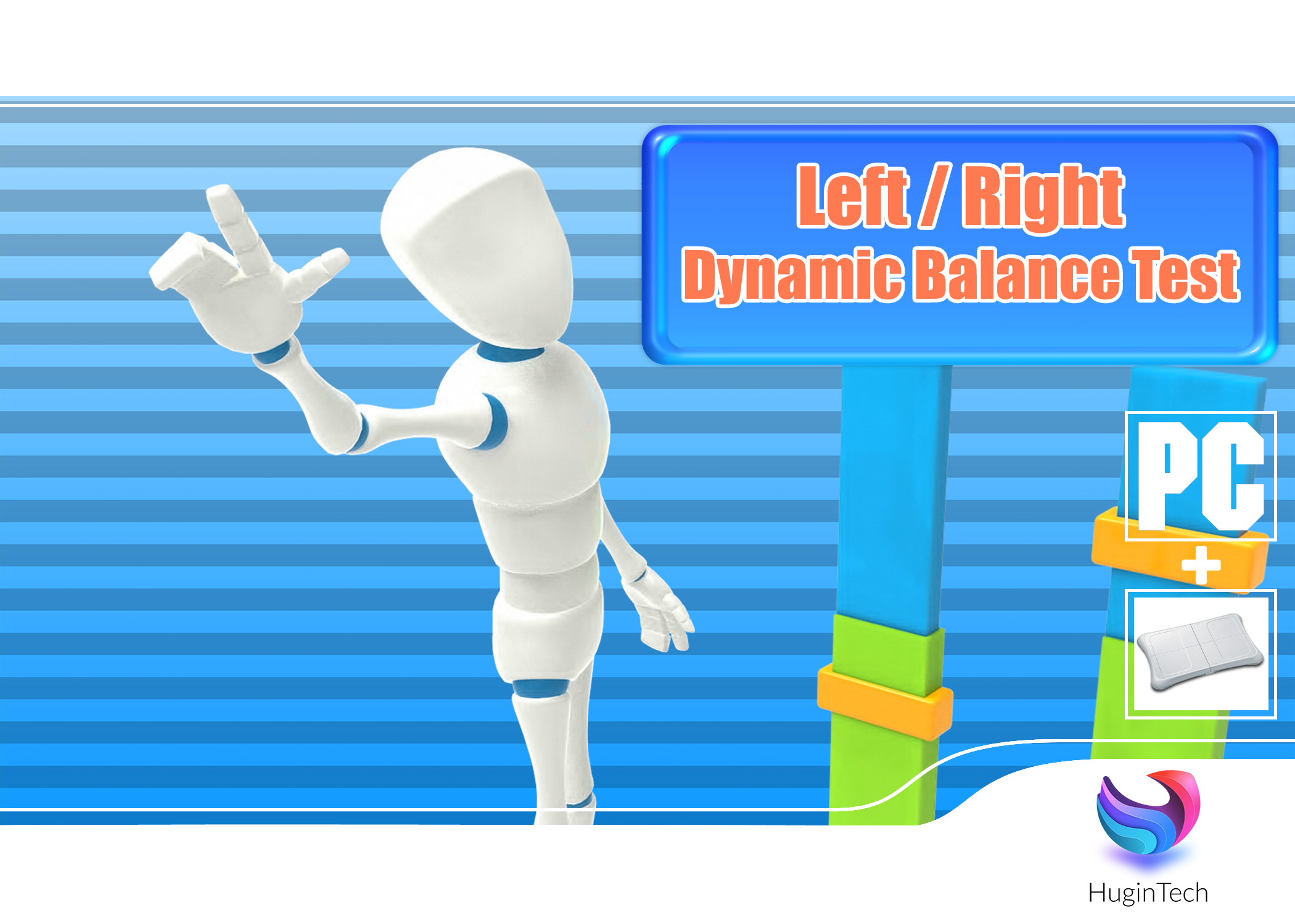 Left-Right Dynamic Balance Test Box Art